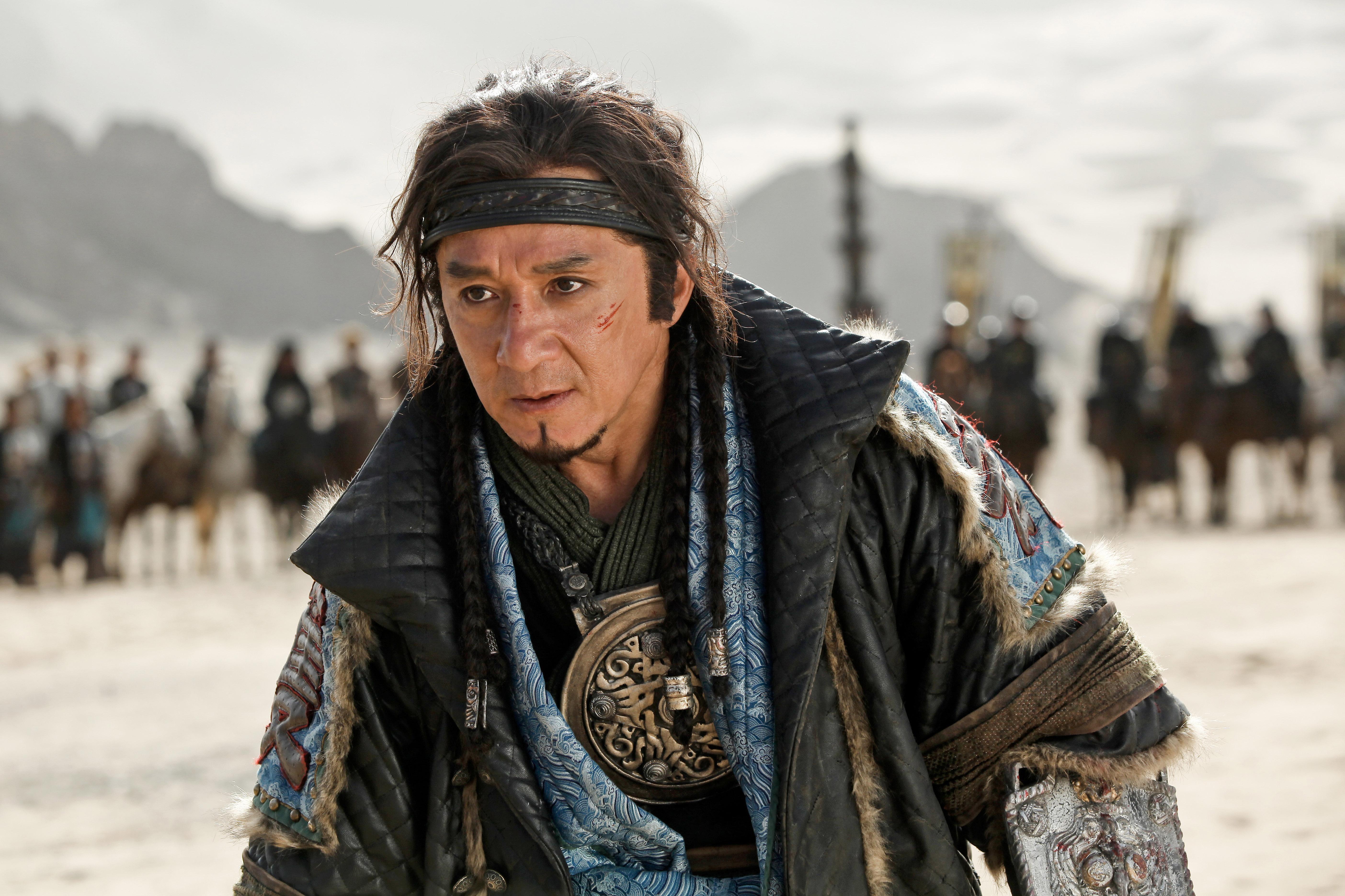 Dragon Blade: Jackie Chan in una scena del film