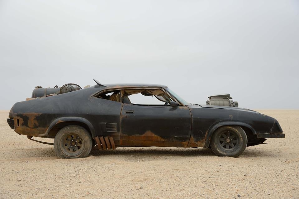 Mad Max: Fury Road - uno dei due veicoli esposti al ComicCon di Napoli