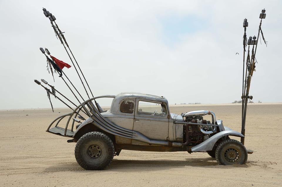 Mad Max: Fury Road - Una delle auto utilizzate nel film che verranno esposte a Napoli