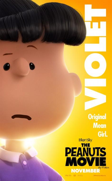 Snoopy & Friends - Il film dei Peanuts - Il character poster di Violet