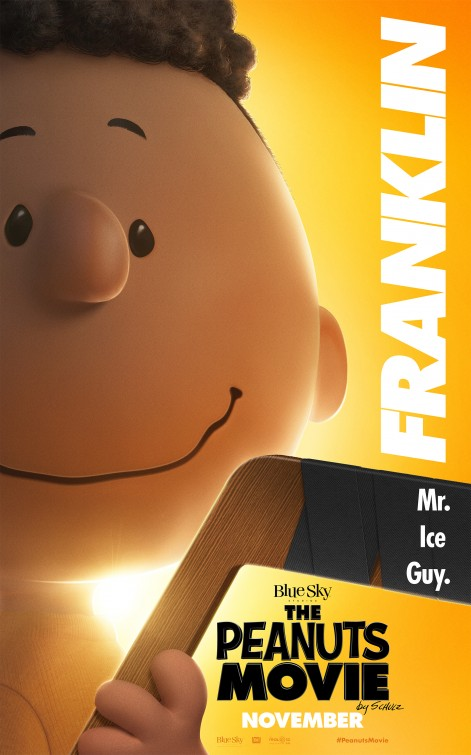 Snoopy & Friends - Il film dei Peanuts - Il character poster di Franklin