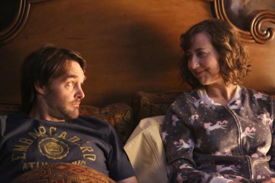The Last Man on Earth: Will Forte e Kristen Schaal in una scena dell'ottavo episodio