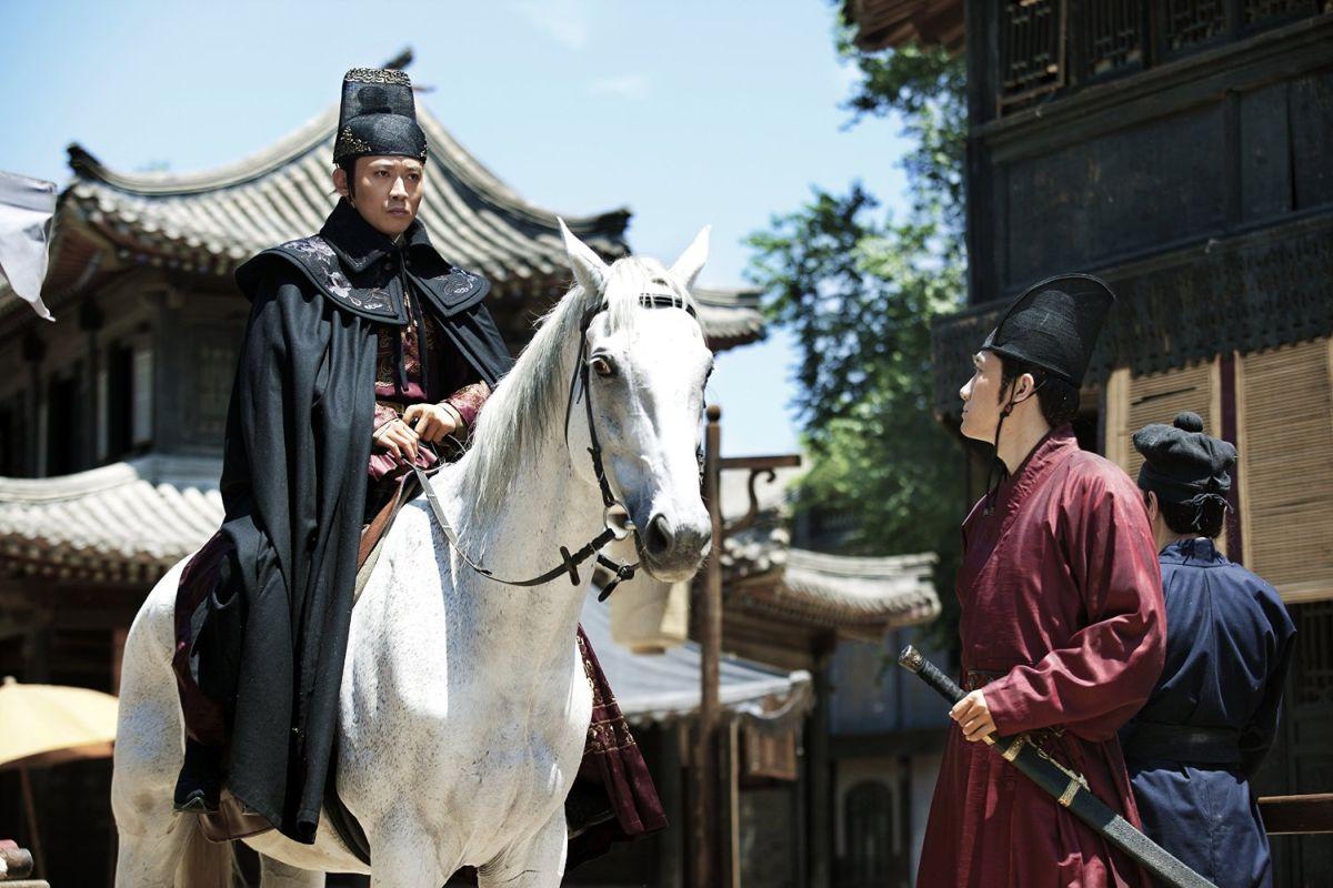 Brotherhood of Blades: Nie Yuan in una scena