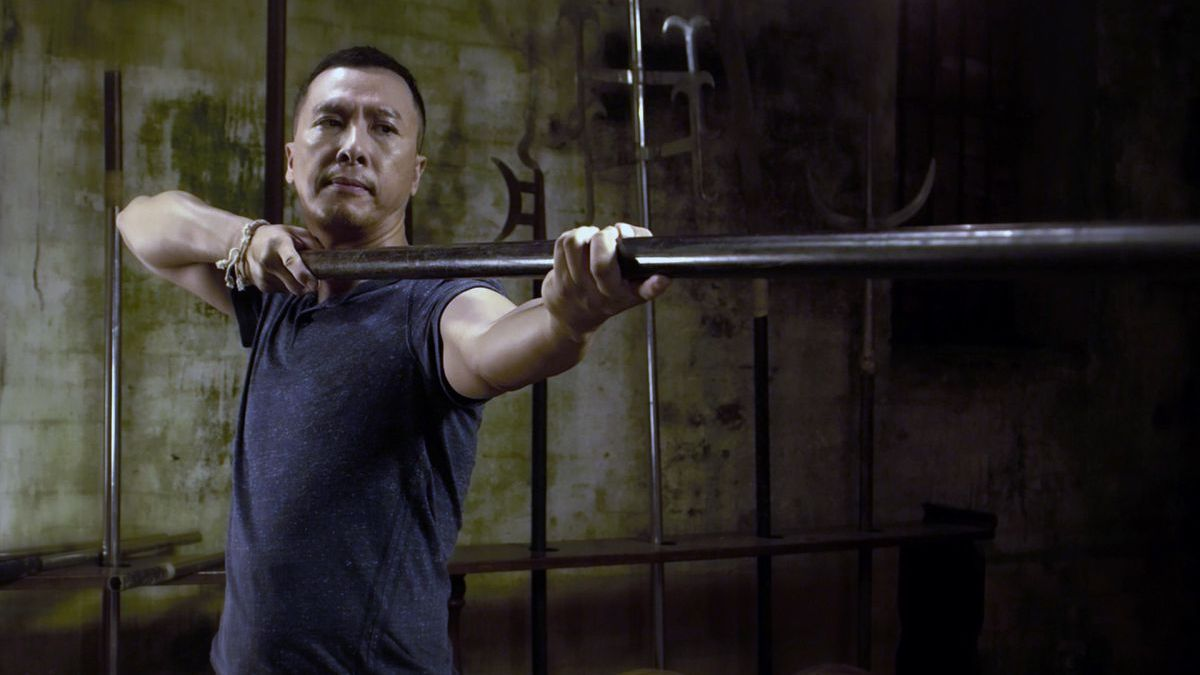 Kunbg Fu Jungle: Donnie Yen in una scena del film action