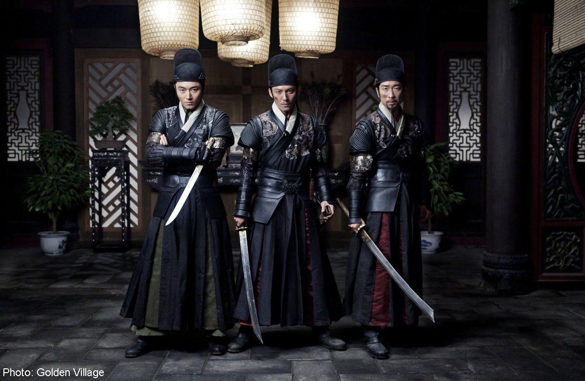 Brotherhood of Blades: Wang Qianyuan con Chang Chen e Ethan Li in una scena