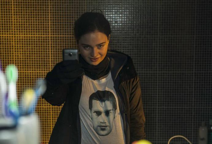 The Fall: l'attrice Aisling Franciosi interpreta Katie in una scena della seconda stagione