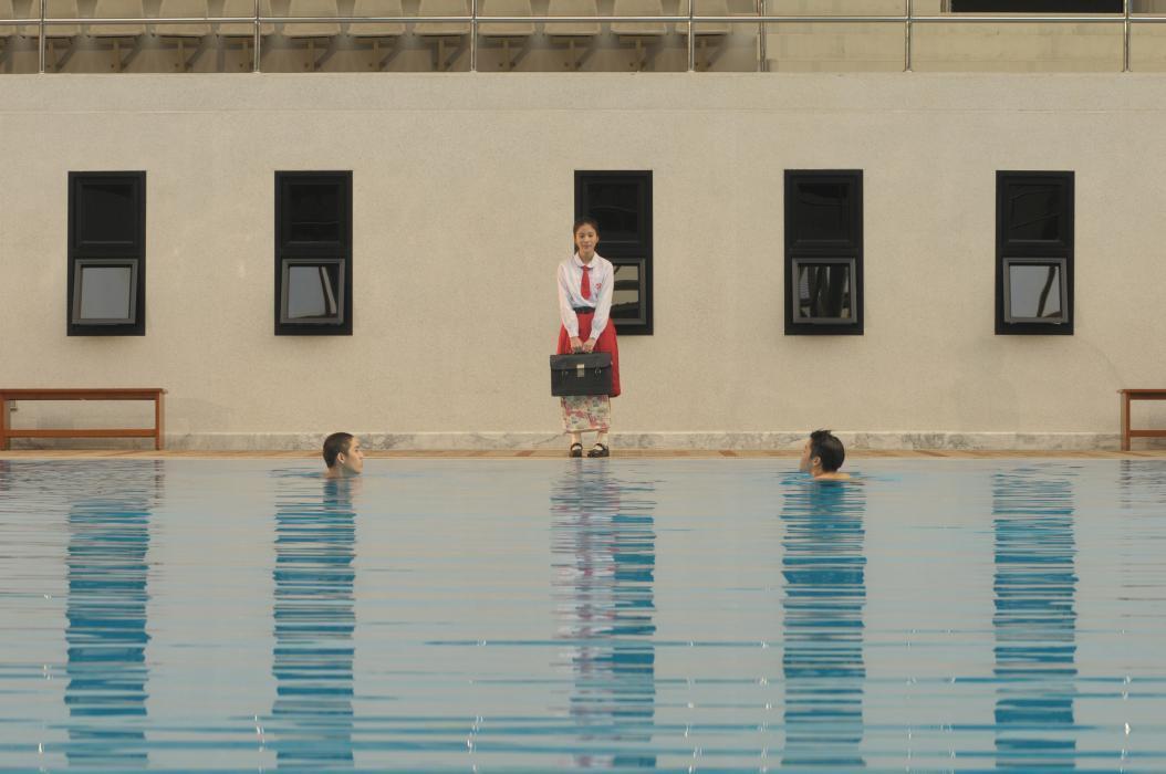 The Swimmers: un'immagine del film horror