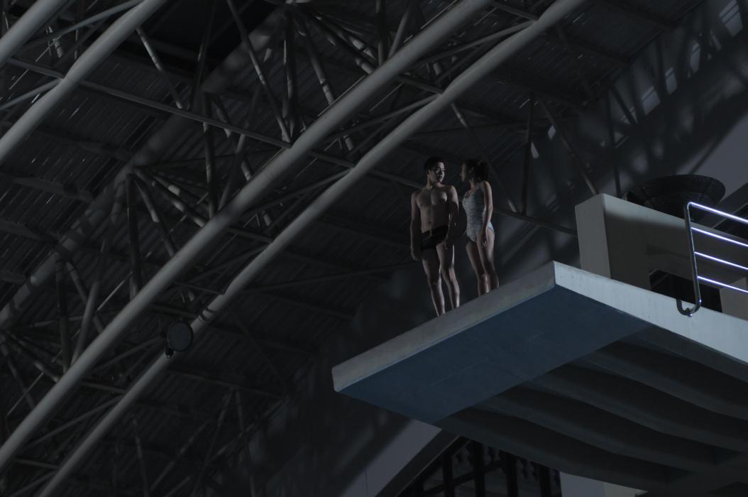 The Swimmers: una suggestiva scena del film