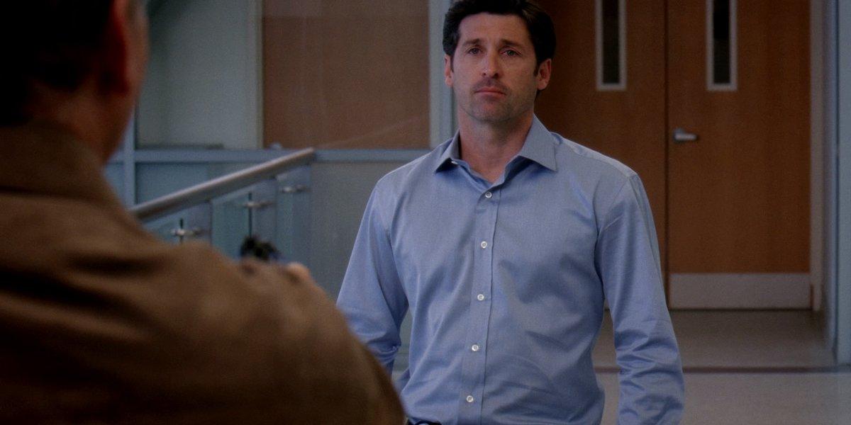 Grey's Anatomy: Derek minacciato da una pistola nell'episodio intitolato Santuario
