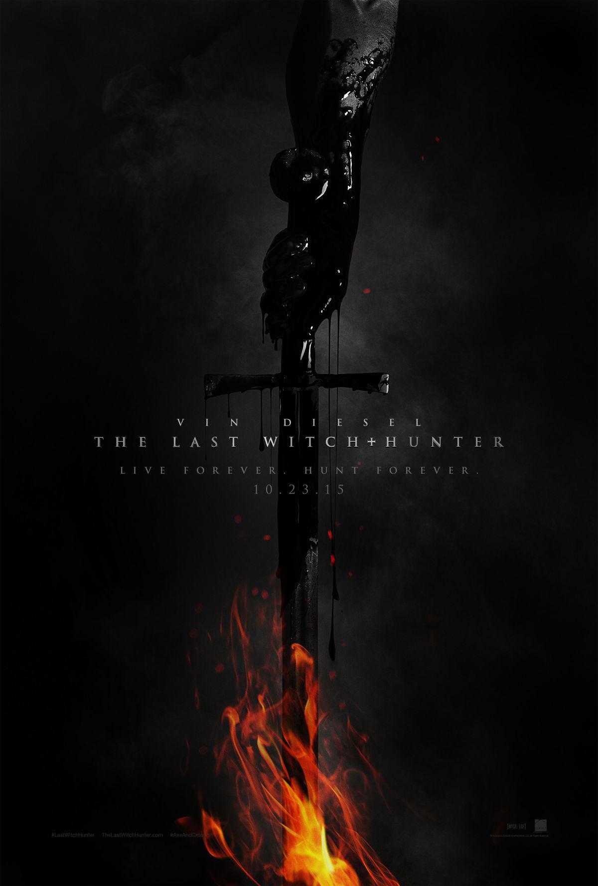 The Last Witch Hunter: il poster del film diretto da Breck Eisner