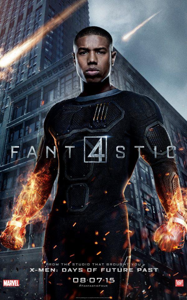 Fantastic 4 - I Fantastici Quattro: il character poster di Johnny Storm