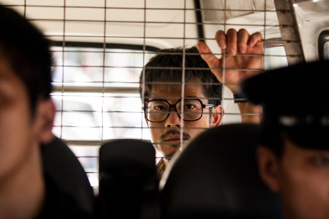 Port of Call: Aaron Kwok in una scena del film poliziesco