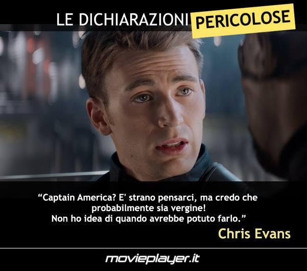 Avengers: Age of Ultron: Chris Evans e la sua 'dichiarazione pericolosa' su Captain America