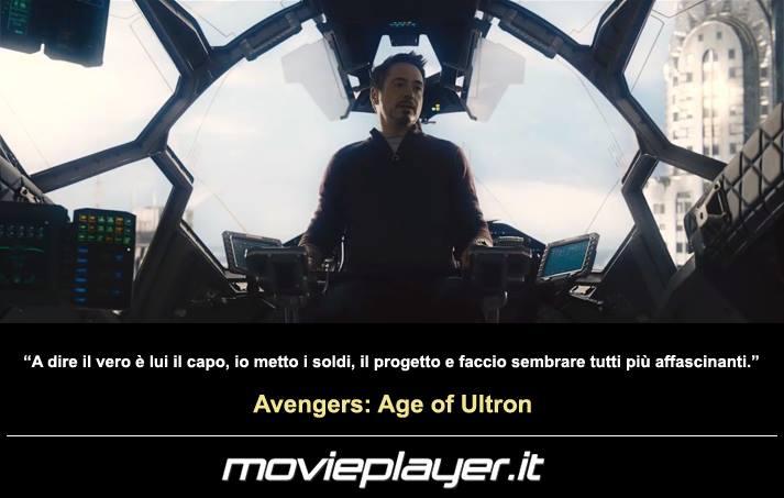 Avengers: Age of Ultron - una frase del film