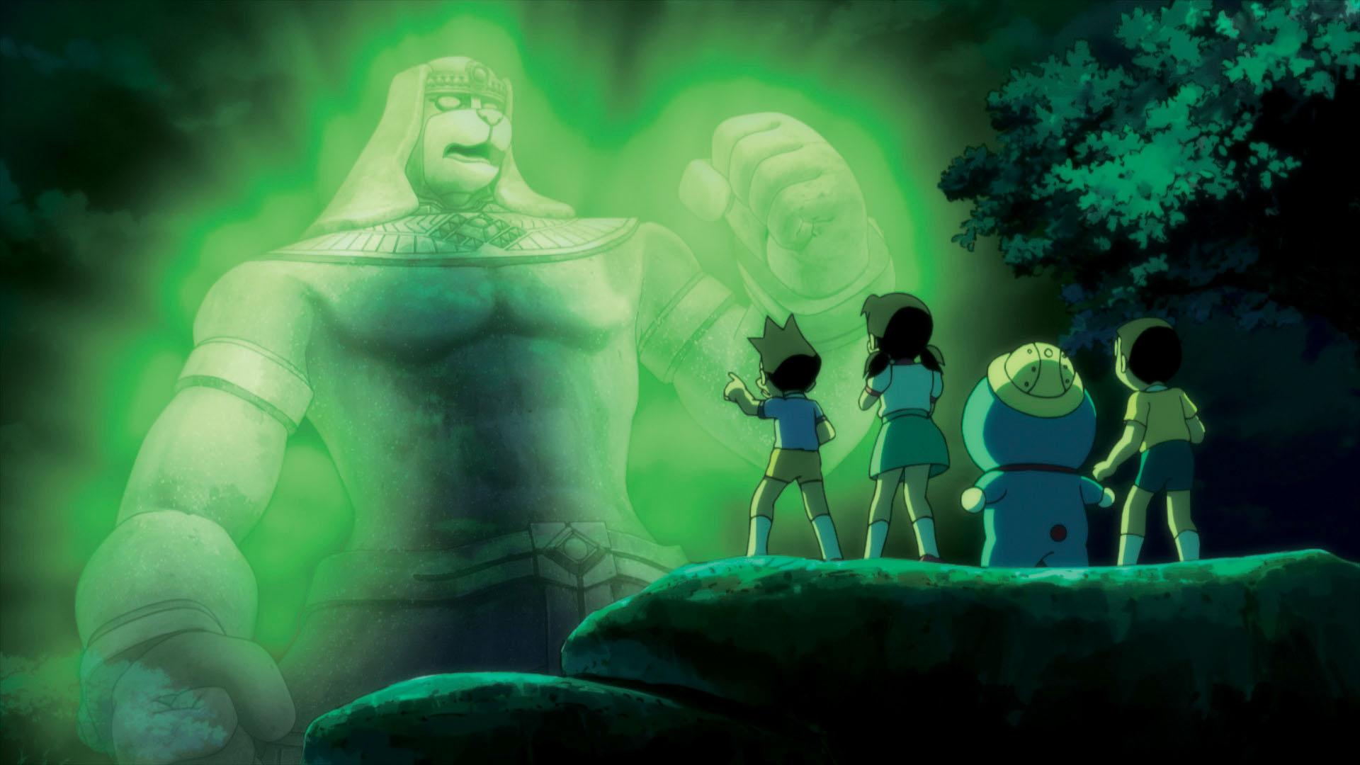 Doraemon Il Film - Le Avventure di Nobita e dei Cinque Esploratori: un'immagine dal film d'animazione
