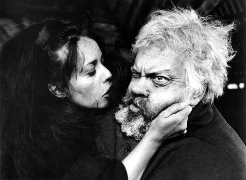 Jeanne Moreau e Orson Welles in Falstaff