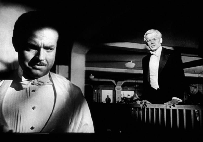 Quarto potere: una scena con Orson Welles e Joseph Cotten