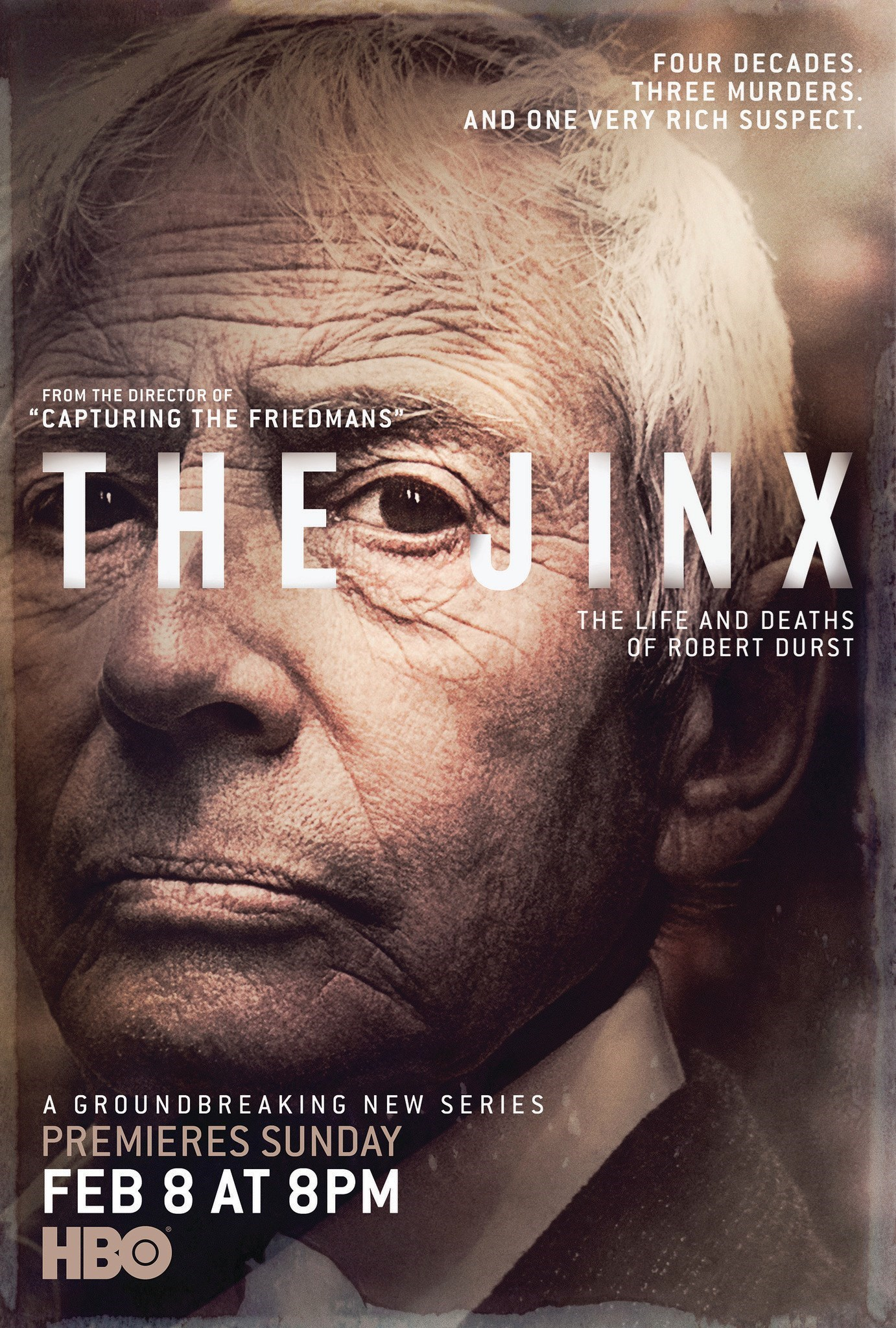 The Jinx: The Life and Deaths of Robert Durst: il manifesto della serie