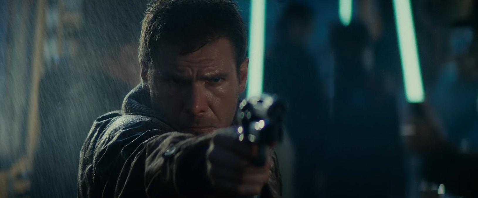 Blade Runner - Harrison Ford in una scena del film