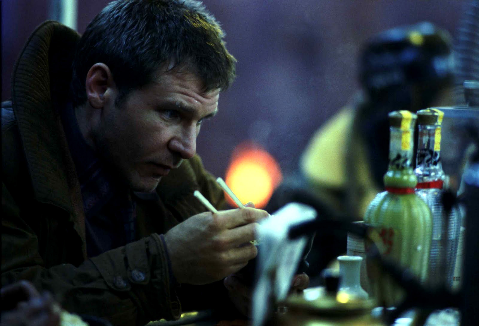 Blade Runner - Harrison Ford nel film di Ridley Scott