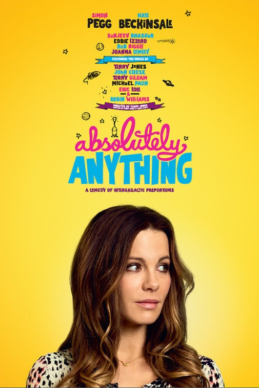 Absolutely Anything: il character poster di Kate Beckinsale