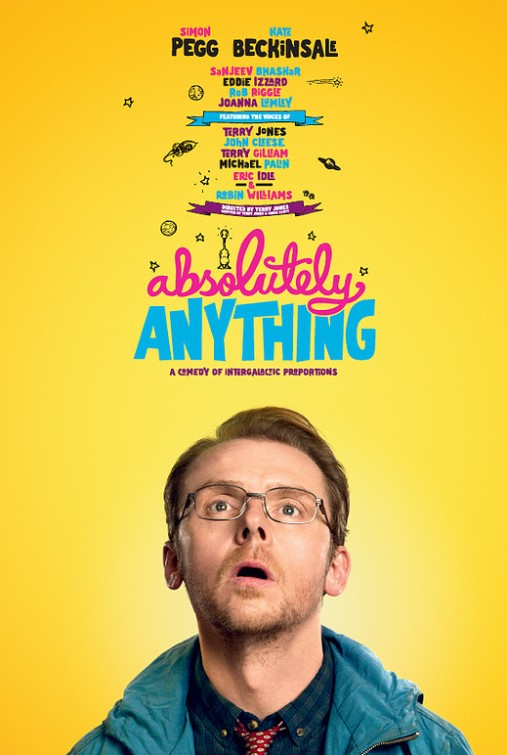 Absolutely Anything: il character poster di Simon Pegg