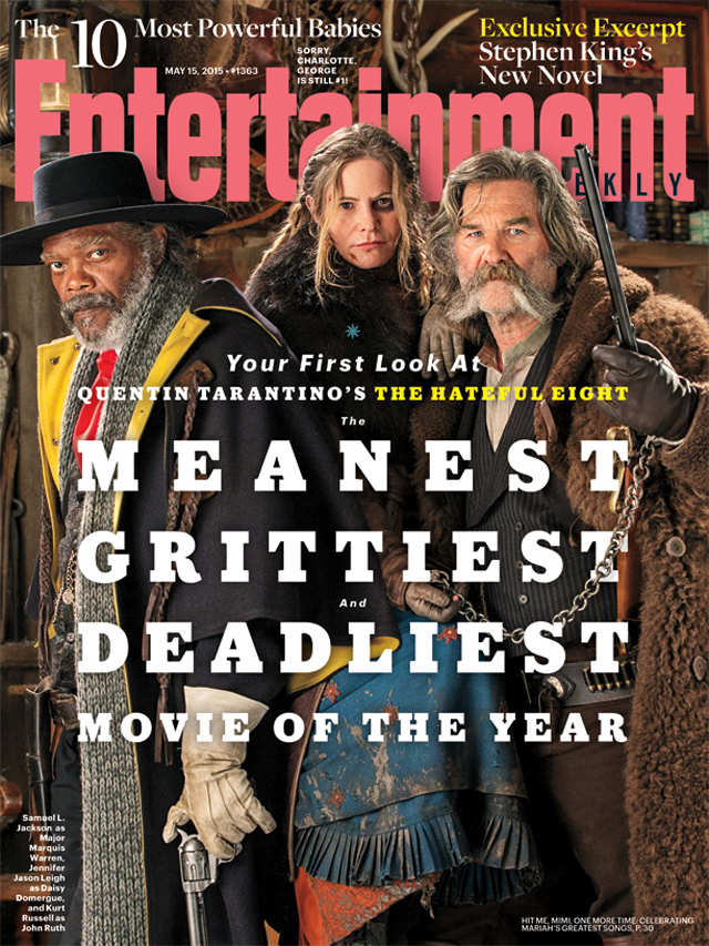 The Hateful Eight: la cover di Entertainment Weekly