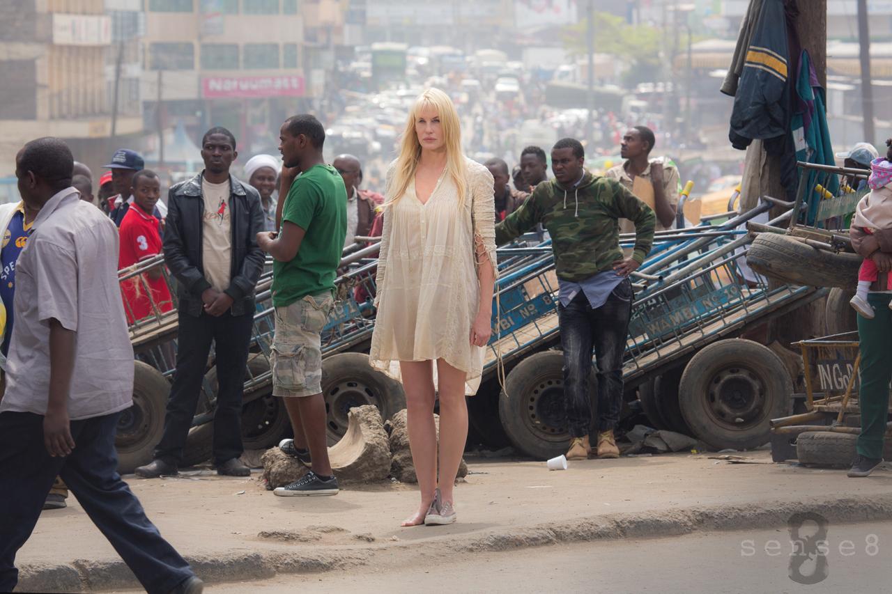 Sense8: Daryl Hannah in una foto della nuova serie di Netflix