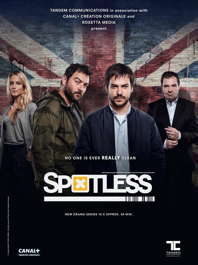 Spotless: la locandina della serie