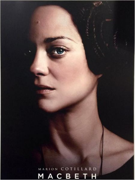Macbeth: Marion Cotillard nel character poster di Lady Macbeth