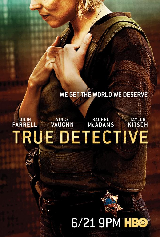 True Detective: il poster della seconda stagione dedicato a Rachel McAdams
