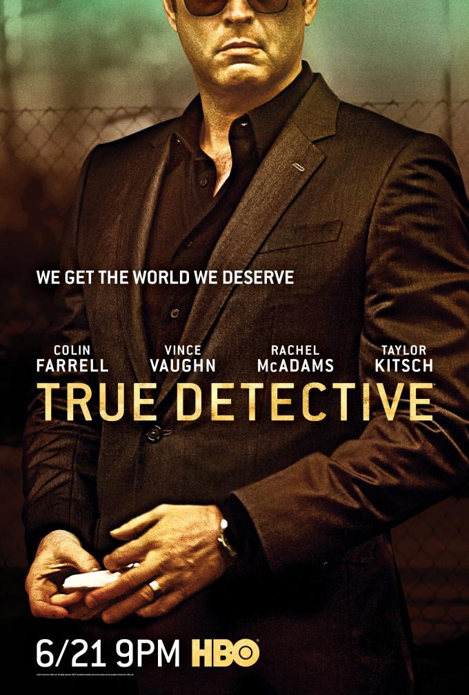 True Detective: il character poster della seconda stagione dedicato al personaggio di Vince Vaughn