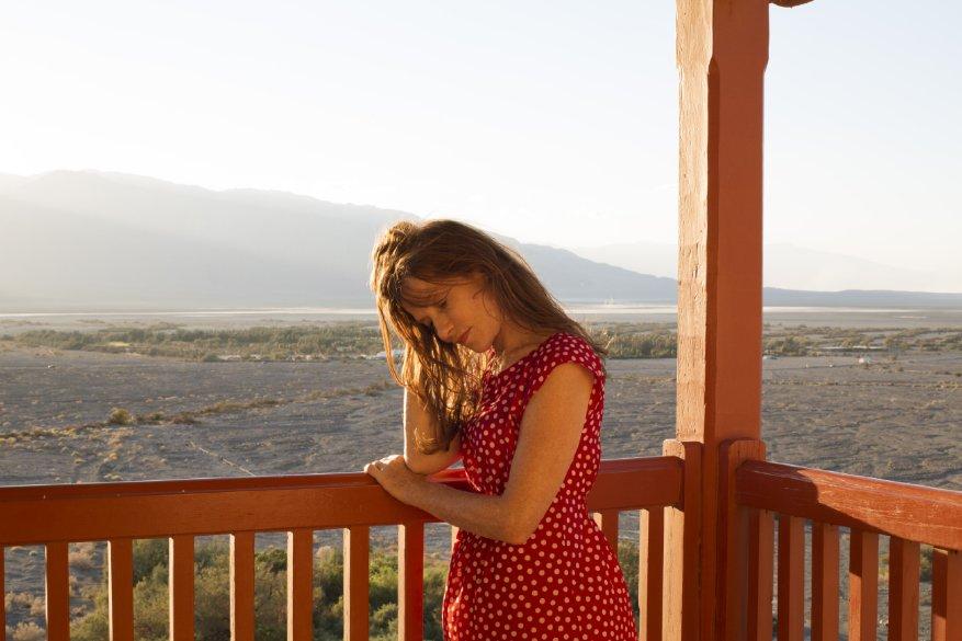 Valley of Love: Isabelle Huppert in un'immagine del film drammatico