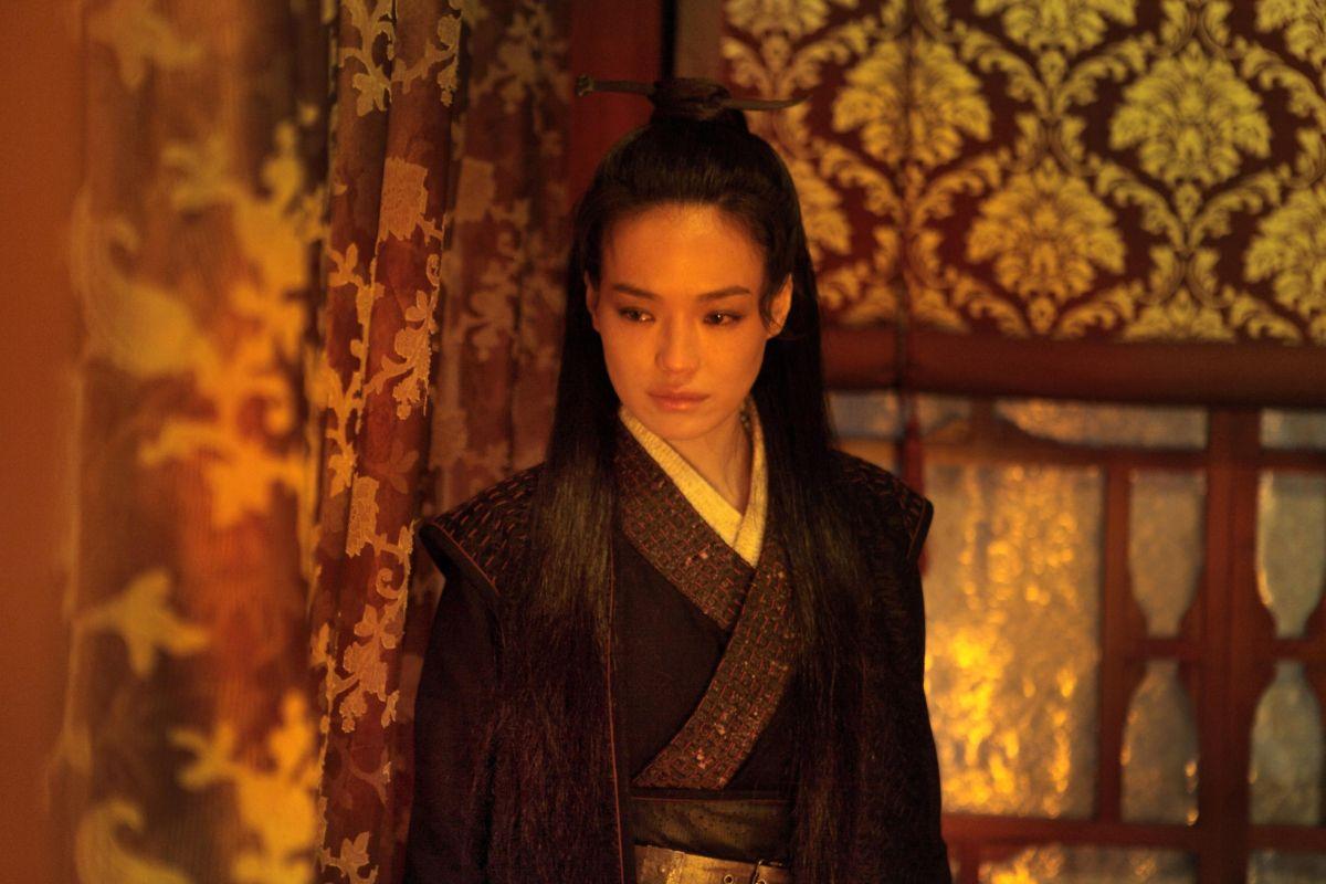 The Assassin: Shu Qi in una scena del film action