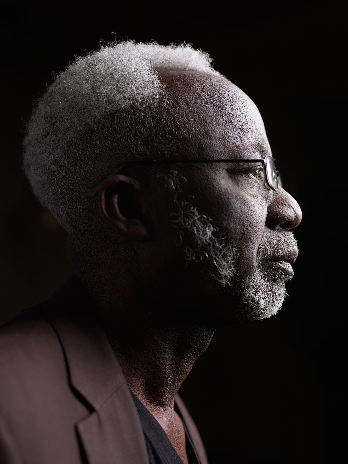 Oka: un'immagine promozionale del regista Souleymane Cissé