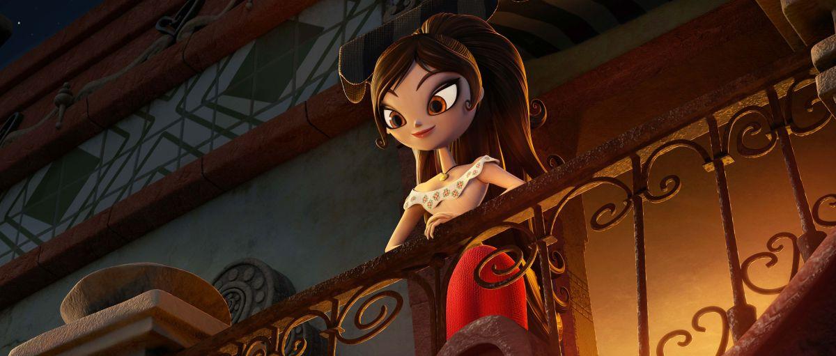 Il Libro della Vita: Maria in un momento del film animato