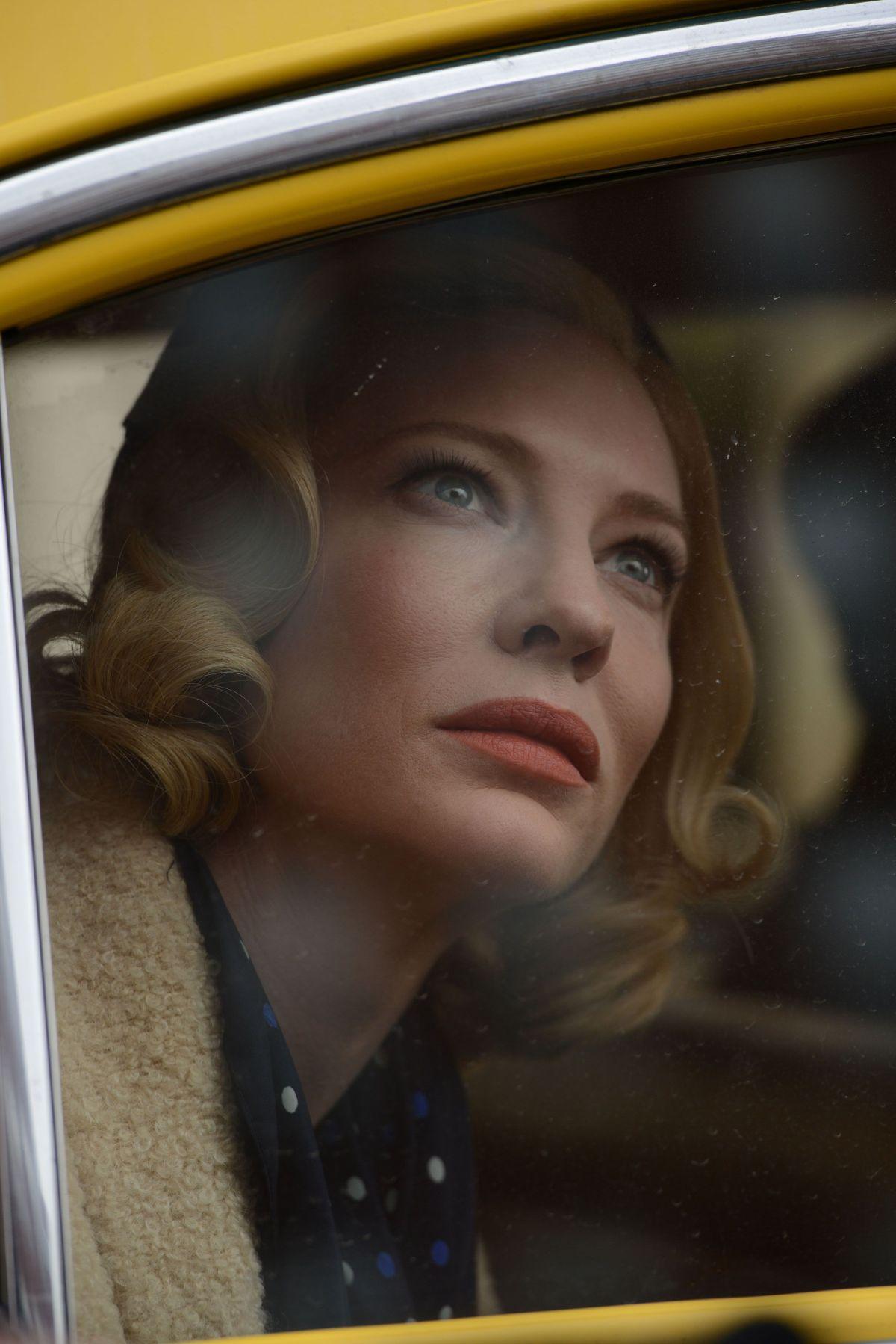 Carol: Cate Blanchett in un primo piano tratto dal film