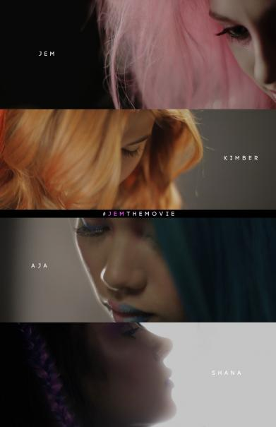 Jem and the Holograns: il teaser poster