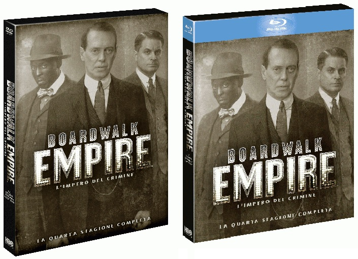 Le cover homevideo di Boardwalk Empire - Stagione 4