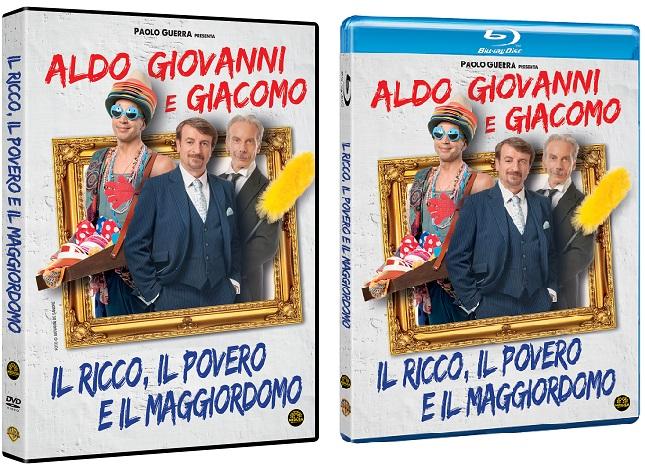 Le cover homevideo de Il ricco, il povero e il maggiordomo
