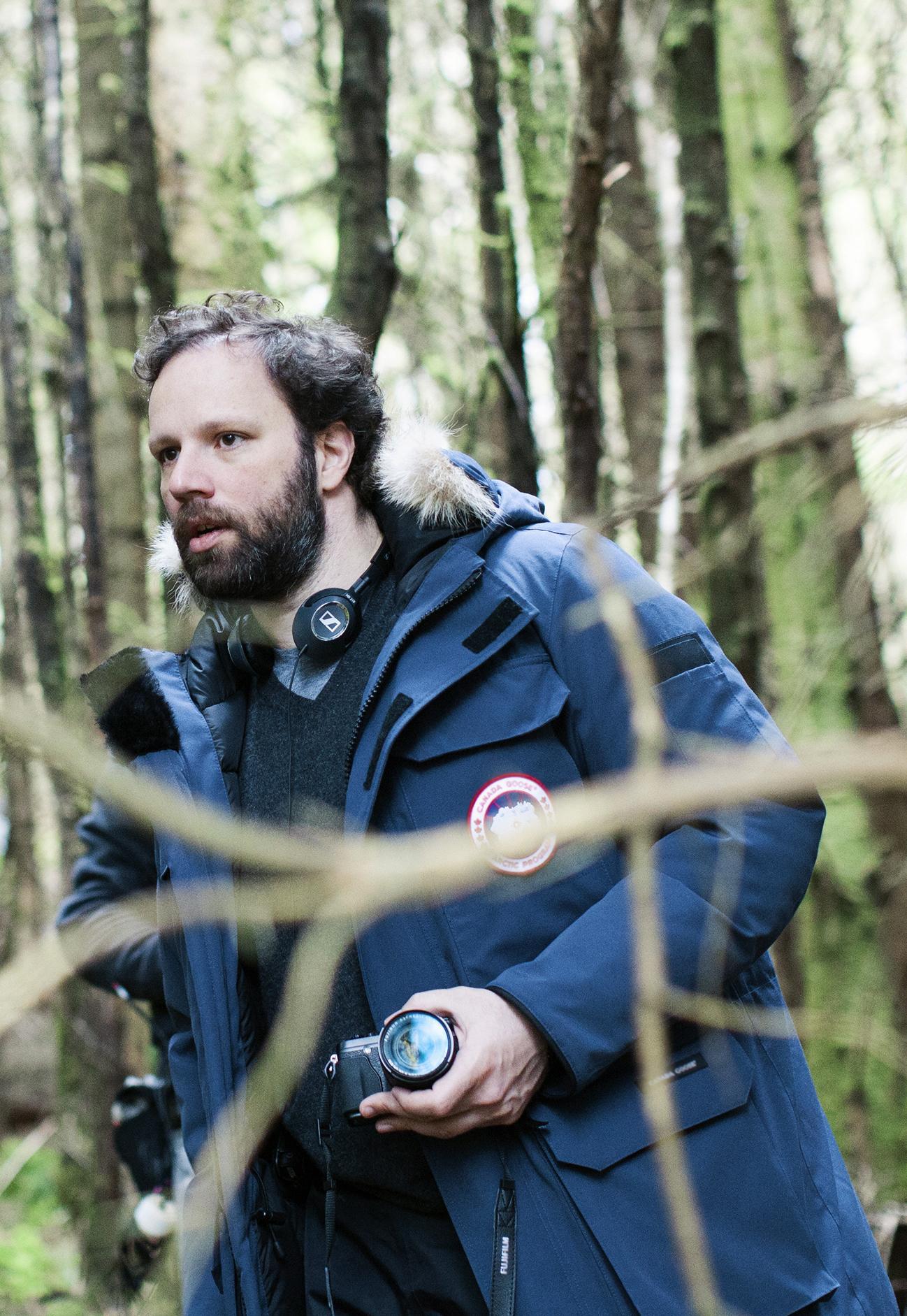 The Lobster: il regista Yorgos Lanthimos sul set del film