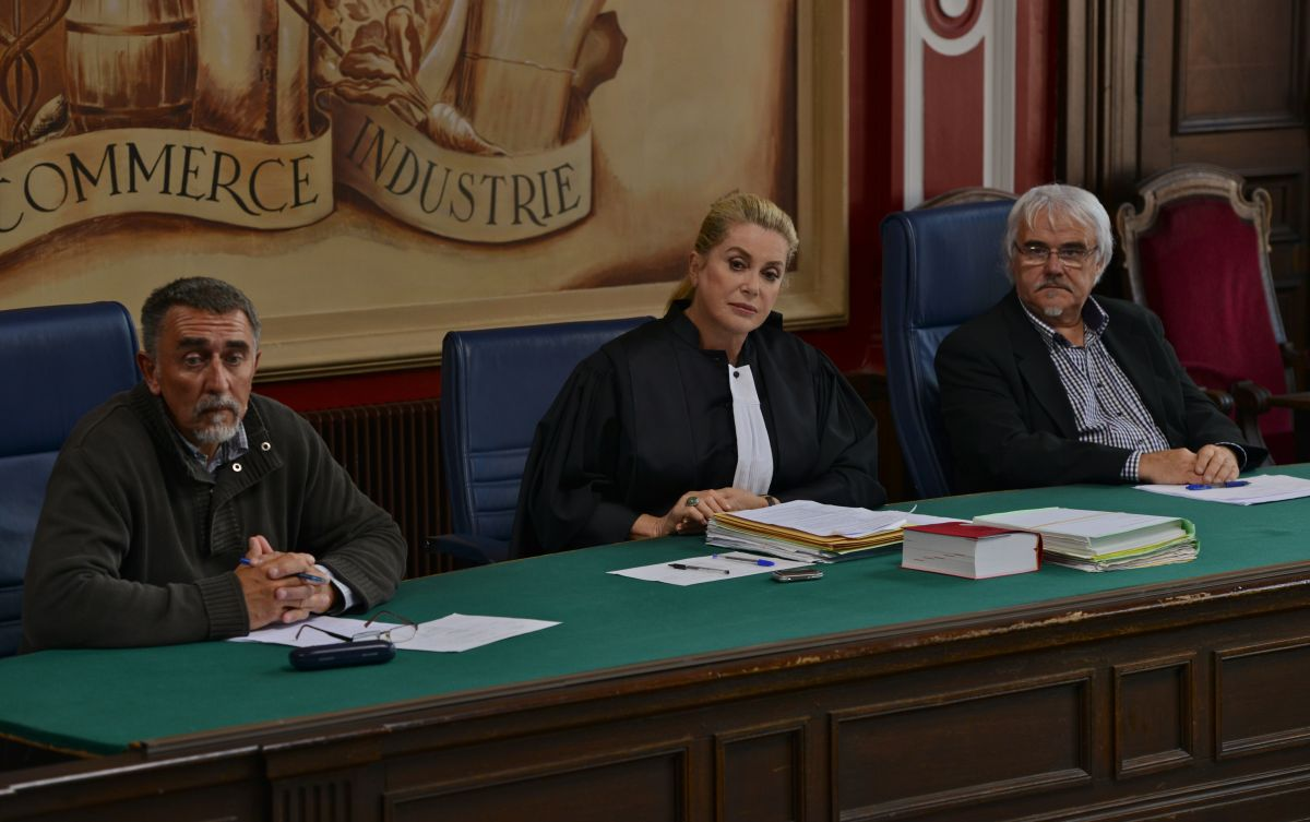 Standing Tall: Catherine Deneuve in una scena del film