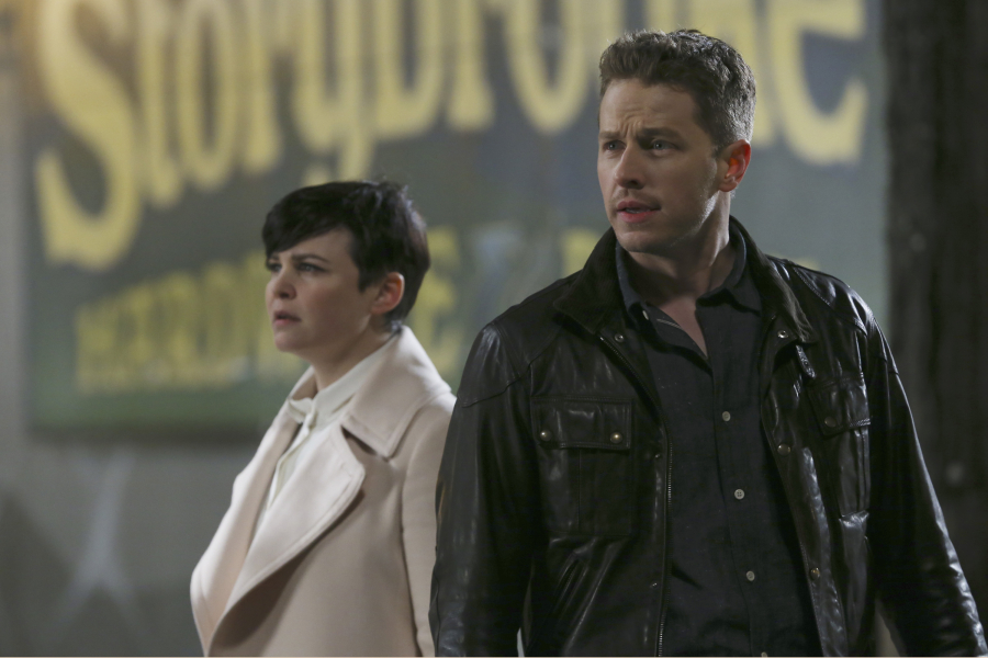 C'era una volta: Ginnifer Goodwin e Josh Dallas interpretano una scena dell'episodio Operation Mongoose