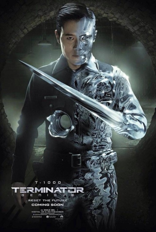 Terminator: Genisys - Il character poster di Lee Byung-hun