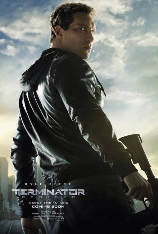 Terminator: Genisys - Il character poster di Jai Courtney