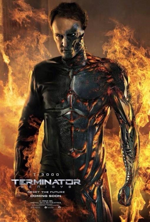 Terminator: Genisys - Il character poster di Jason Clarke