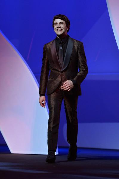Cannes 2015: il regista Xavier Dolan durante la cerimonia di apertura