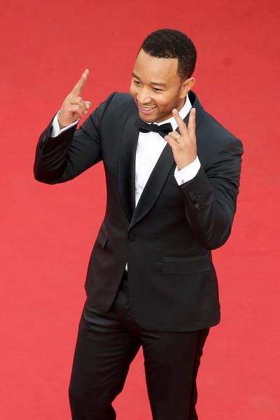 Cannes 2015: John Legend scherza con i fotografi