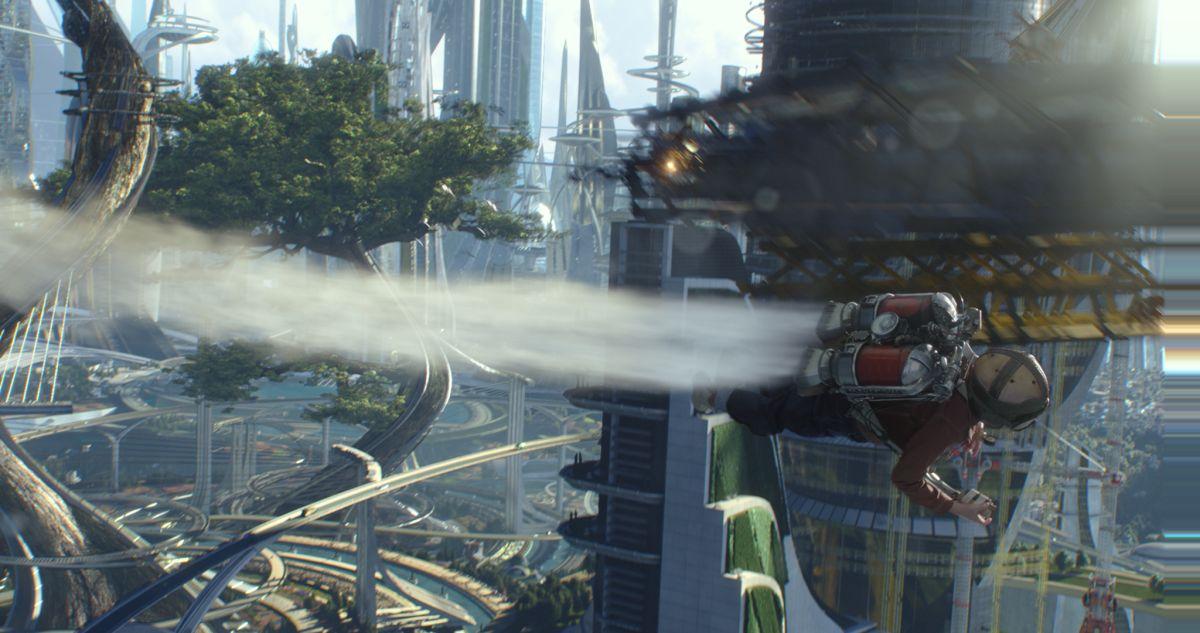 Tomorrowland - Il mondo di domani: un'immagine tratta dal film