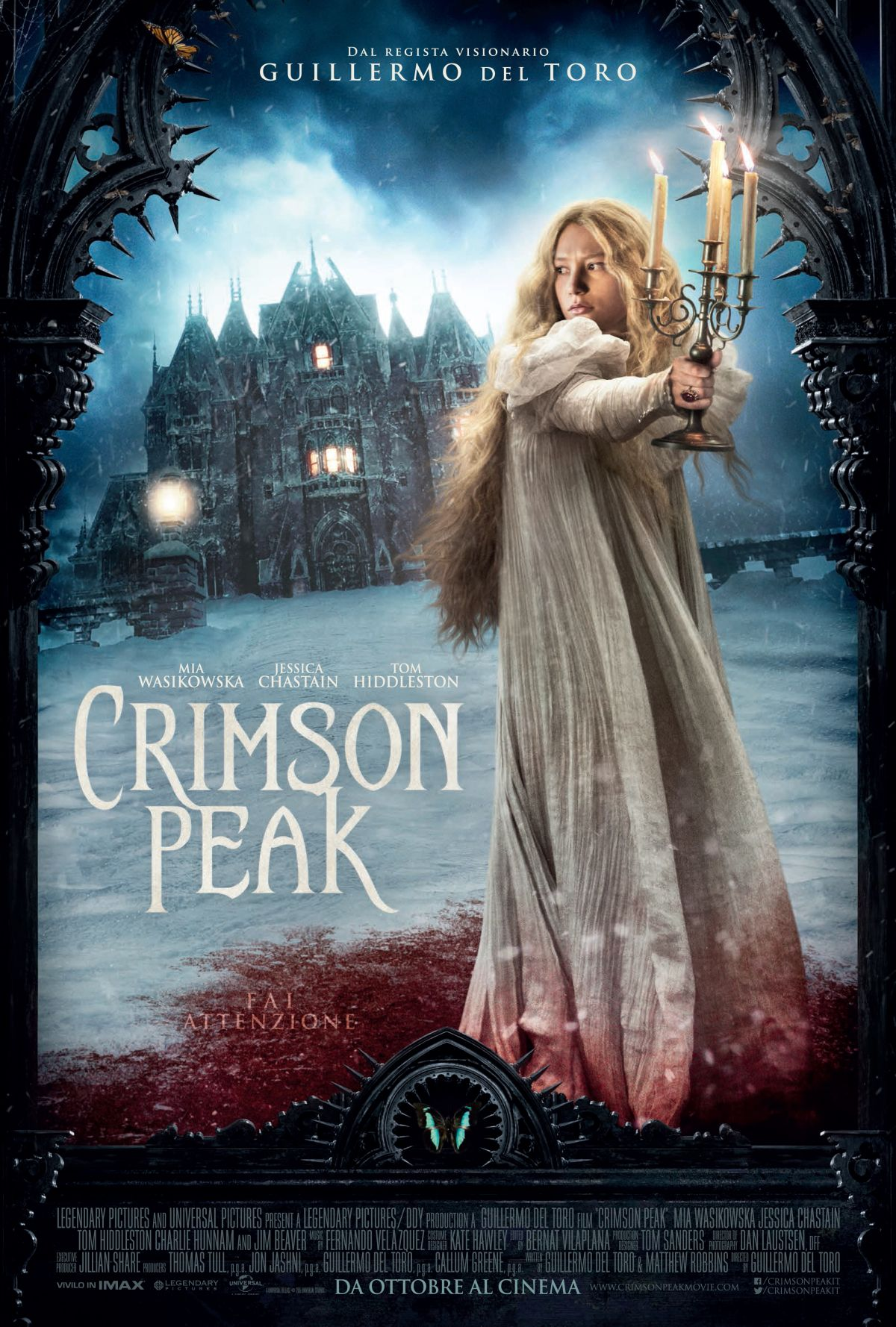 Locandina di Crimson Peak: 402044 - Movieplayer.it
